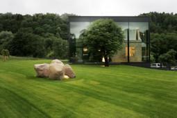 sklenný dom