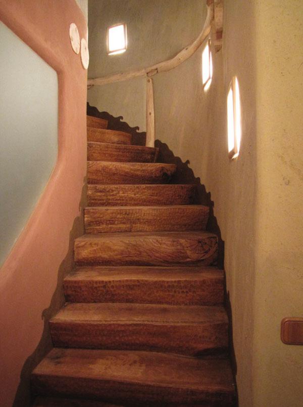 Hlinené materiály v interiéri stavby