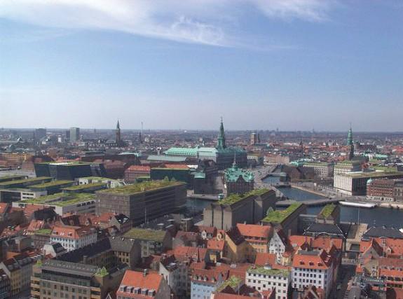 Zelené strechy v Kodani
