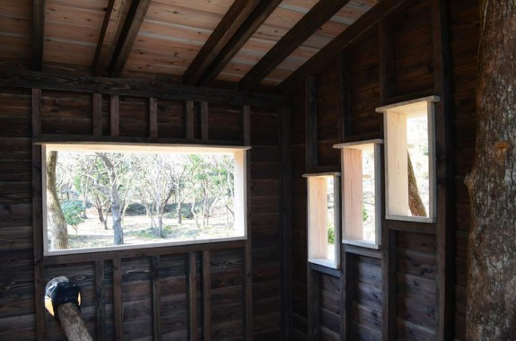 Stromodom v Higashi Izu - interiér