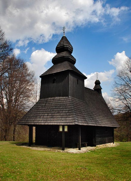 Gréckokatolícky Chrám sv. Mikuláša v Ruskej Bystrej