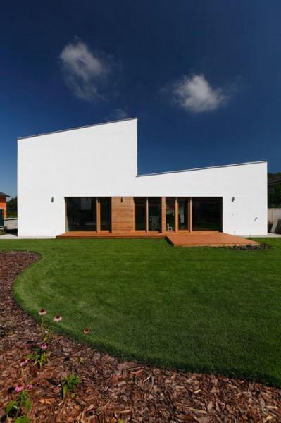 Energeticky pasívny rodinný dom v Stupave na Kremenici od architekta Pavla Pokorného