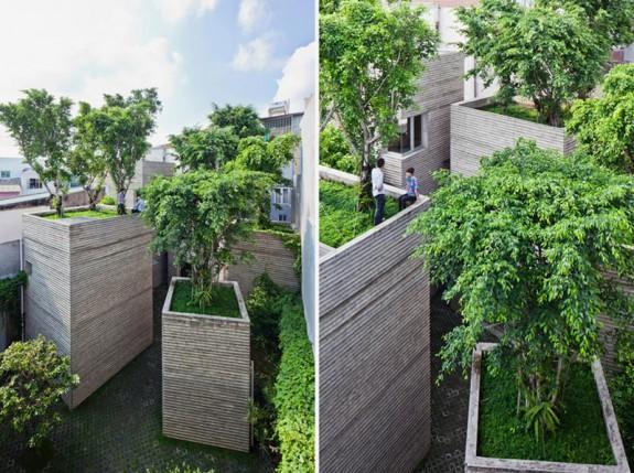 Obydlia sa snažia svojich obyvateľov znova spojiť s prírodným prostredím. Foto: Hiroyuki Oki