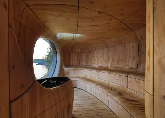 Grotto - sauna pri jazere (1)
