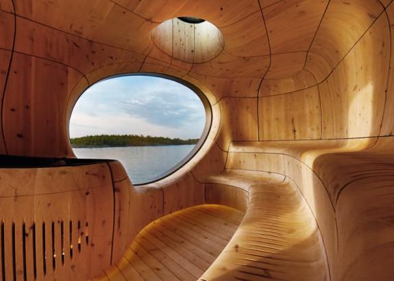 Grotto - sauna pri jazere (4)