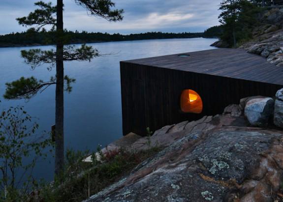 Grotto - sauna pri jazere (6)