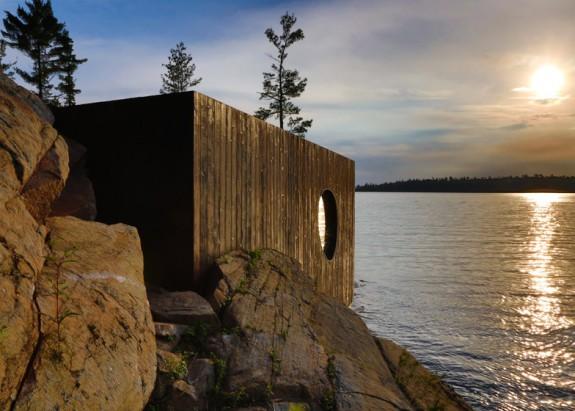 Grotto - sauna pri jazere (7)