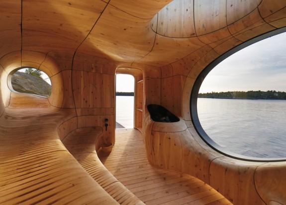 Grotto - sauna pri jazere (8)