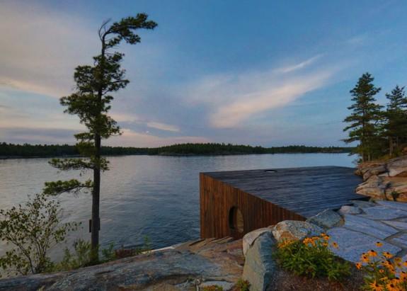 Grotto - sauna pri jazere (9)