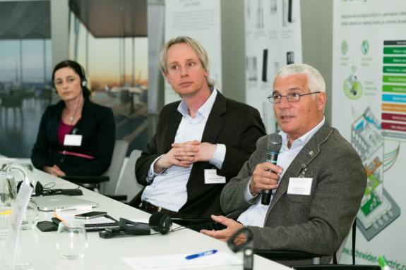 Zprava: Luciano Lazzari, Michiel van der Vight, Alena Ohradzanská (MDVRR SR)