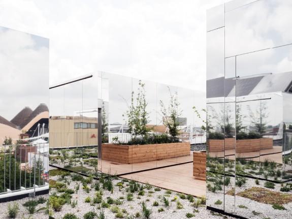 EXPO 2015 v Miláne, strecha