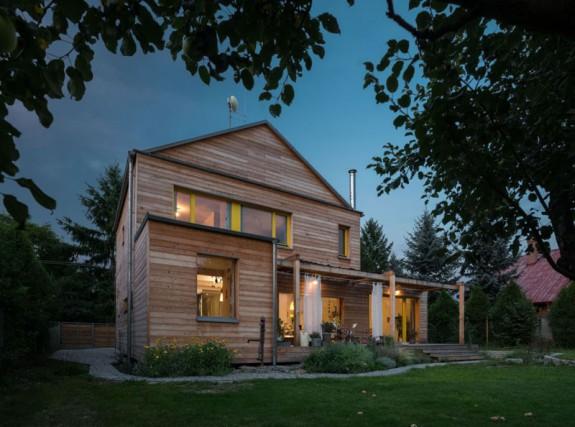 Pasivny rodinny dom v Hradištku (Zdroj: 3AE_s.r.o. NOVATOP)