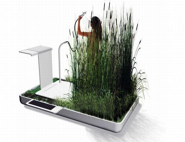 Na ekologick sprchovanie sta ia dva litre vody for Eco friendly bathroom remodel